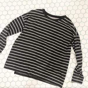 Striped Cotton Soft / side zippers.
